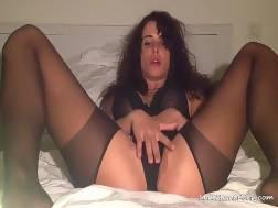 My wifey rubs her