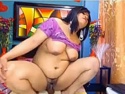 Curvy Indian webcam