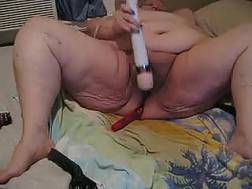This obese grandmother