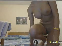 Teen gf fuckin with