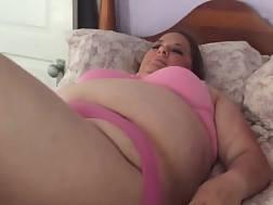 fat wifey plowed bed