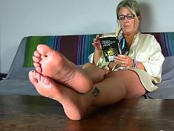 mature cougar film feet