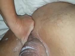 naughty girlie dude wanking