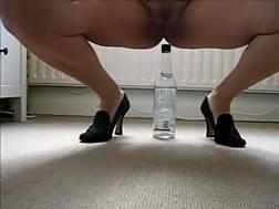 riding bottle pleasure