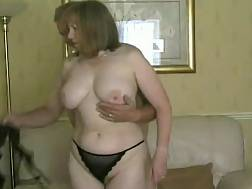 mature bbw wife foreplay