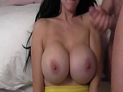 jizzing new boobies