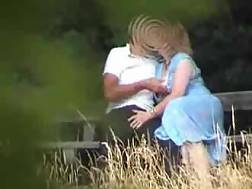 bench bushes couple