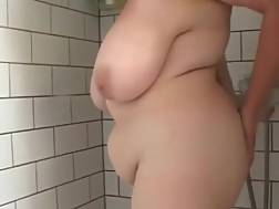 fatty in plump shower