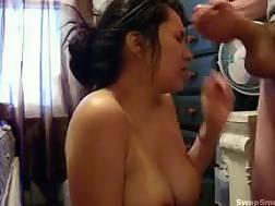 sexy chick enjoys