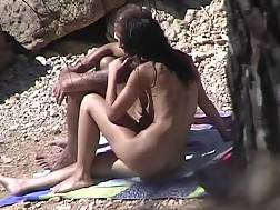 amateur couple nude beach