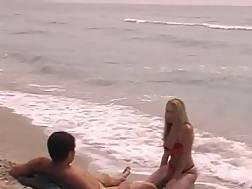 at beach blond blonde