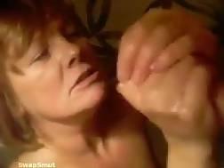 bitch cum cumshot