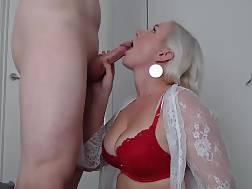 blonde amateur public show