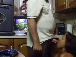 mature wifey knees sucking