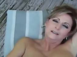 mom gets cumshot good