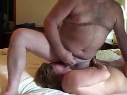 mature wife jizzes husband