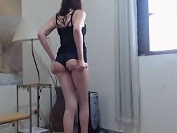 horny girl masturbates rectal