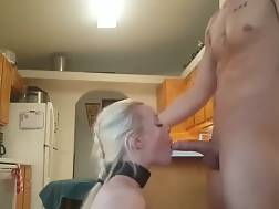 submissive hot blondie takes
