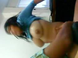 excellent boobed latina sitting