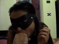 hooker mask on only