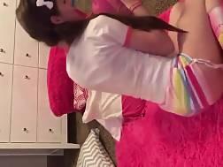 young girl enjoys play