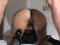 & anal and heels