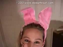 big bunny cock easter