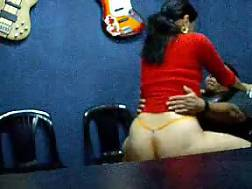 latin couple using webcam