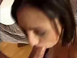 a black brunette