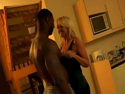 stunning blond milf allows