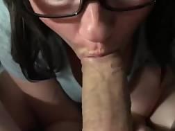 a babe blow cock
