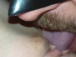 getting licked my