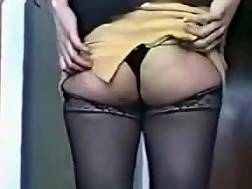anal in mature nylons