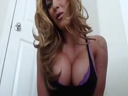 hot blond mamma teasing