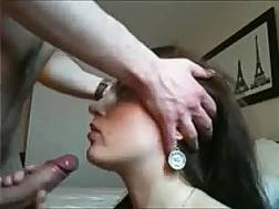 beautiful girlfriend enjoys blowing