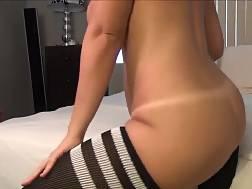 lovely bubble butt babe