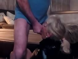 leather blond german bitch