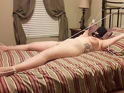 curvy girlie enjoying bondage
