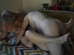 shaved old girlie fucking