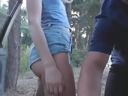 amateur blondie tight jeans