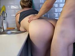 sexual blonde stepsister bangs