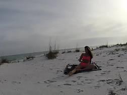 alone naughty beach