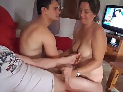 Wife playing with