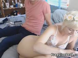 young sexy couple licking