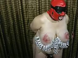 curvy bound masked bbw