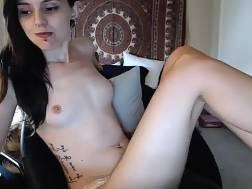 beautiful amateur brunette live