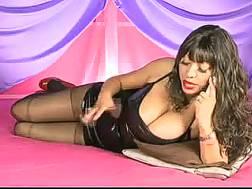 slender leggy hot black