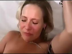 blond haired wifey blowing