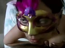 huge breasted masked latina
