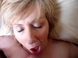 short haired mature blonde